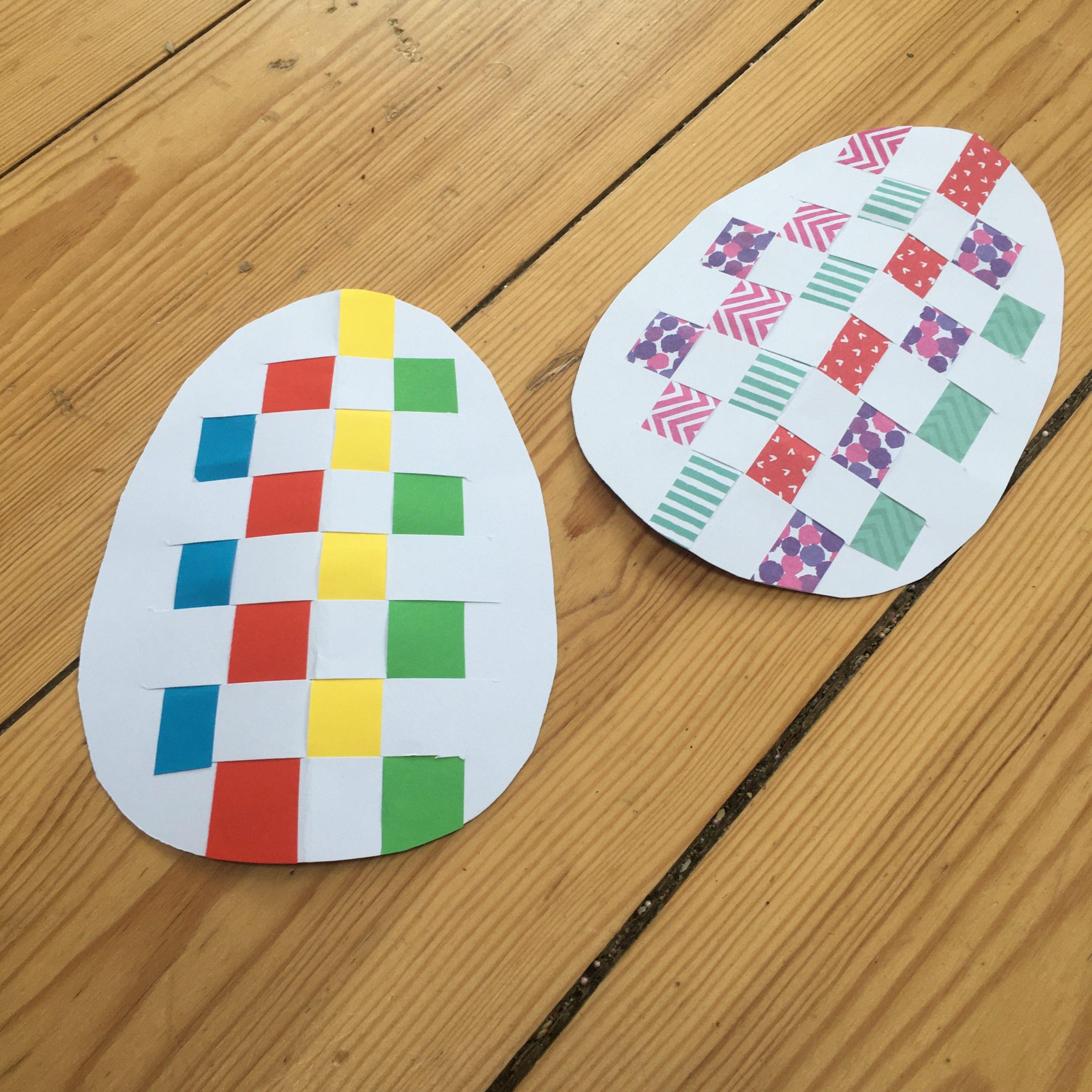 Easter Egg Weaving