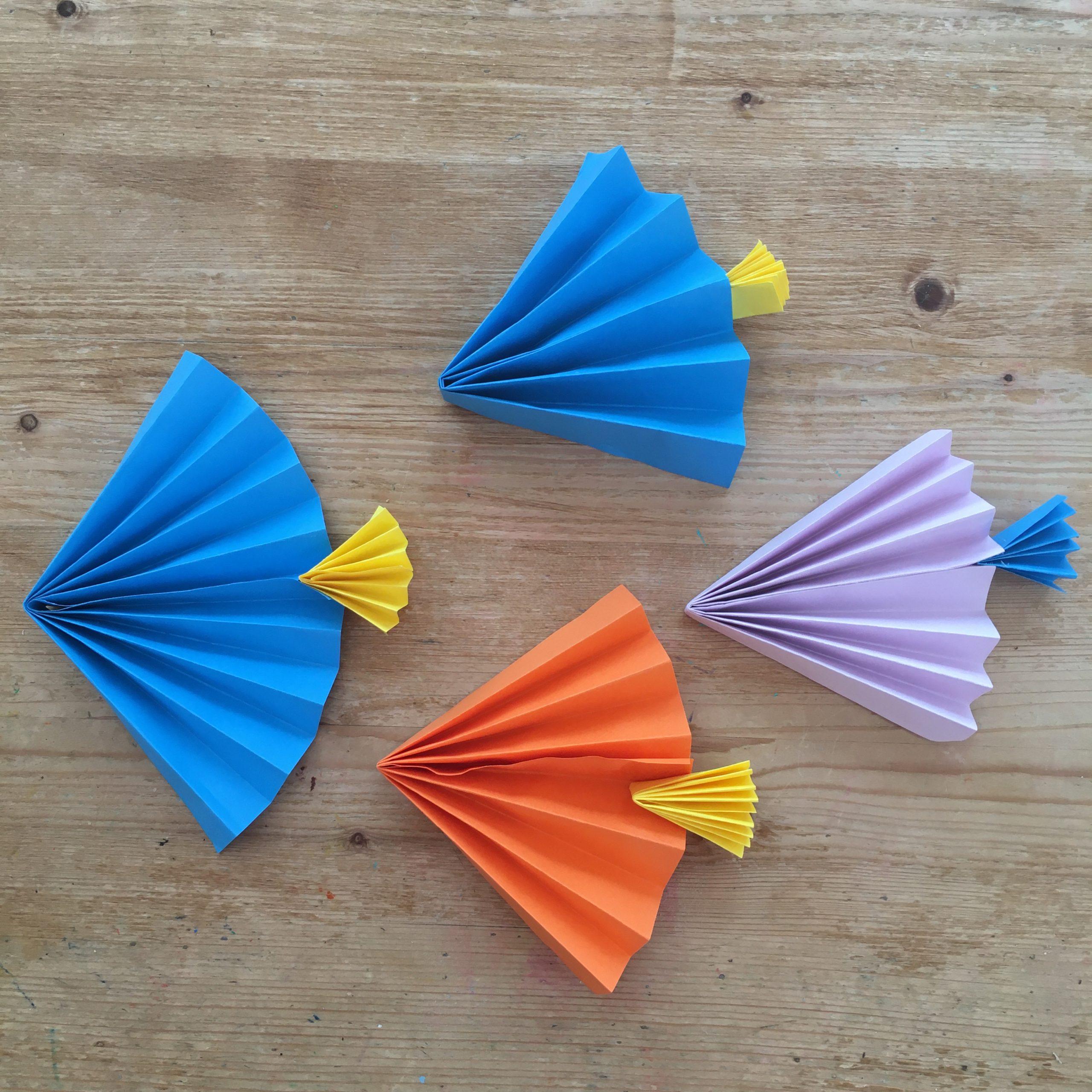 Paper Fan Fish
